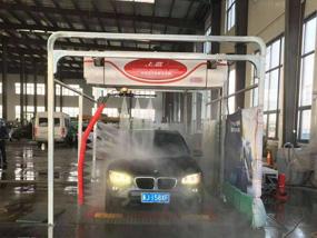 沧州黄骅港 河北春林汽车维修服务有限公司360洗车机安装完成