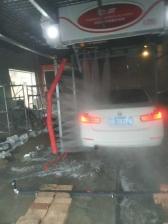 甘肃庆阳的T-11洗车机安装完成