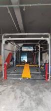 兰州新保税区洗车店安装上意自动洗车机S-19成功