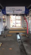 黑龙江鹤岗老板安装上意全自动洗车机T-12成功