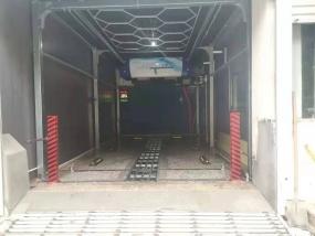 山东潍坊昌邑市 上意S-19风干型洗车机安装调试完成!