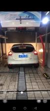 青海果洛州斑马县, 上意S-19风干型洗车机安装调试完成