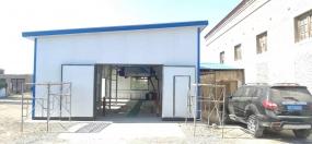 新疆奎屯洗车店 S-19型安装成功
