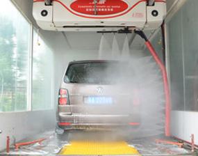 山西新洁龙无接触洗车机