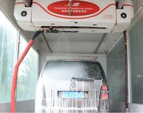 无接触洗车机设备