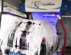 无人值守洗车机